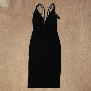 Lulus black dress NWT